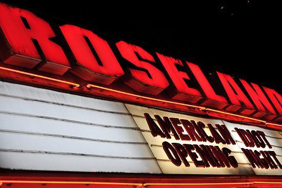 American Idiot Opening – Roseland shot