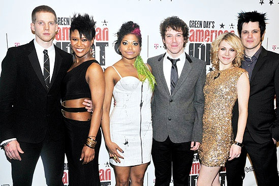 American Idiot Opening – Stark Sands – Christina Sajous – Rebecca Naomi Jones – John Gallagher Jr. – Mary Faber – Michael Esper