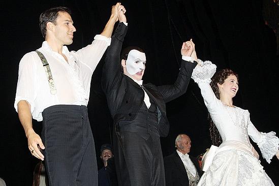 Hugh Panaro Returns to Phantom – Ryan Silverman – Hugh Panaro – Sara Jean Ford