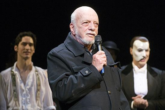 Phantom of the Opera 23rd Anniversary – Sean MacLaughlin – Harold Prince – Hugh Panaro (curtain call)