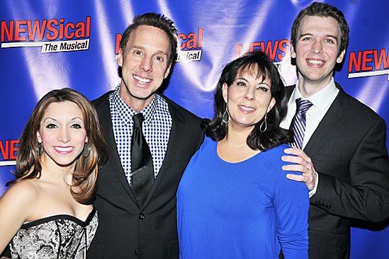 Newsical - Michael West, Christina Bianco, Christine Pedi, and John Walton West