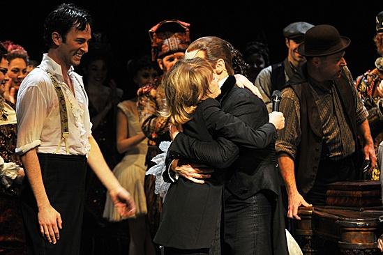 Phantom of the Opera – 10,000 Performance – Kyle Barisich – Gillian Lynne – Hugh Panaro