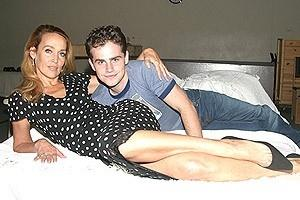 The Graduate Tour Rehearsal - Jerry Hall - Rider Strong
