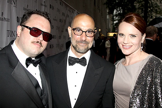 2010 Tony Awards Red Carpet – Jay Klaitz – Stanley Tucci - Jennifer Laura Thompson
