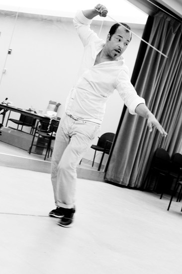 Free Man of Color Rehearsal – Jeffrey Wright (dashing)