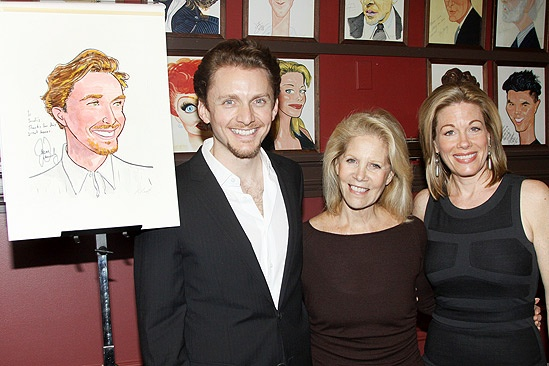 Jason Danieley Sardi's Caricature – Jason Danieley – Daryl Roth – Marin Mazzie