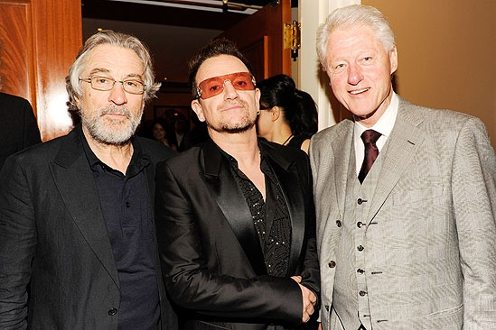 Spider-Man opening – Robert De Niro – Bono – Bill Clinton
