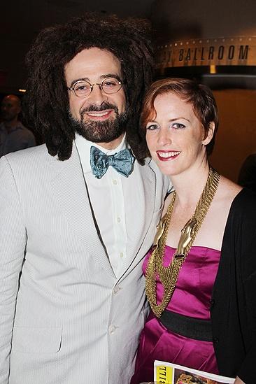 <i>Follies</i> opening night – Adam Duritz – Carmel Dean