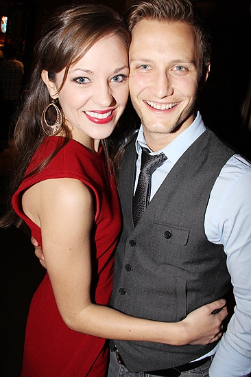 <i>Man and Boy</i> opening – Laura Osnes – Nathan Johnson