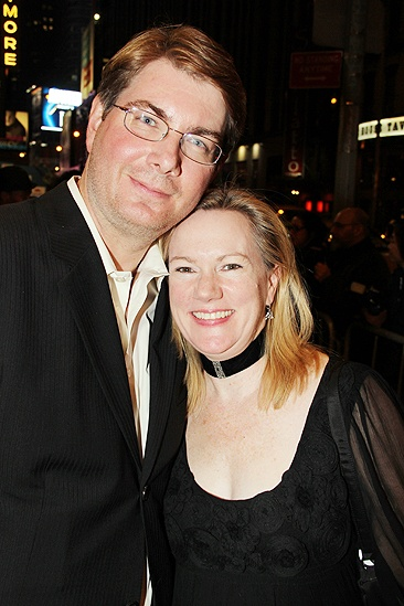 Venus in Fur Broadway Opening Night – Scott Landis – Kathleen Marshall