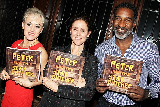 Peter and the Starcatcher Book Party – Tracie Bennett – Julie Taymor – Norm Lewis