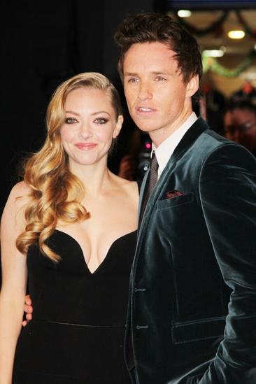 Les Miserables London premiere – Amanda Seyfried – Eddie Redmayne