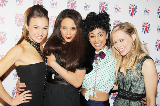 Viva Forever opening night – Dominique Provost-Chalkley – Hannah John-Kamen – Siobhan Athwal – Lucy Phelps