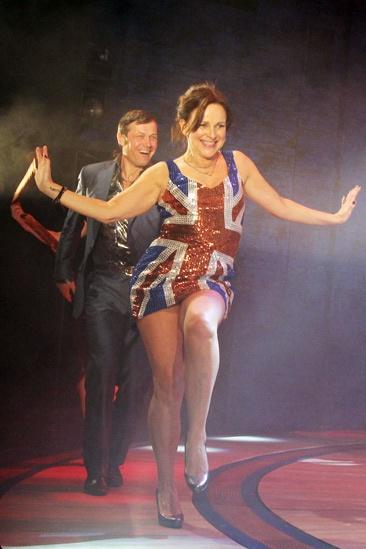 Viva Forever opening night – Sally Ann Triplett