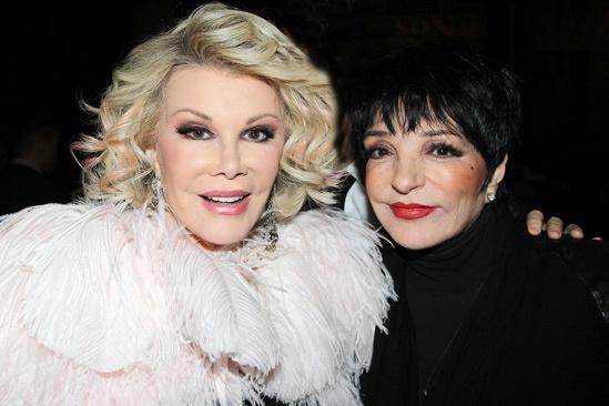 Kinky Boots Opening- Joan Rivers- Liza Minnelli