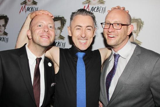 Macbeth – Opening Night – John Tiffany – Alan Cumming – Andrew Goldberg