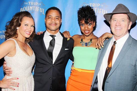 The Trip to Bountiful – Opening Night – Vanessa Williams – Cuba Gooding Jr. – Condola Rashad – Tom Wopat