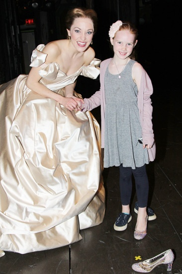 Brooke Shields at Cinderella – Laura Osnes – Grier Henchy