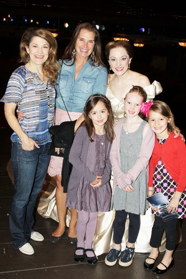 Brooke Shields at Cinderella – Brooke Shields – Victoria Clark – Laura Osnes – Grier Henchy