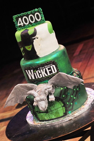 Wicked – 4,000 Performance- Cake