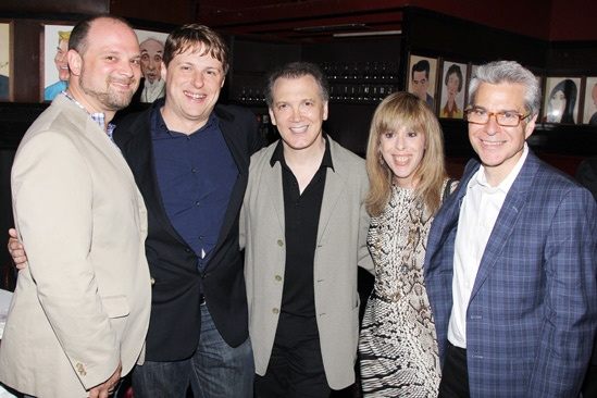 Off Broadway Alliance Awards – 2013 – Carl Andress – Sam Davis – Charles Busch - Barbara Pasternack – Mark Waldrop