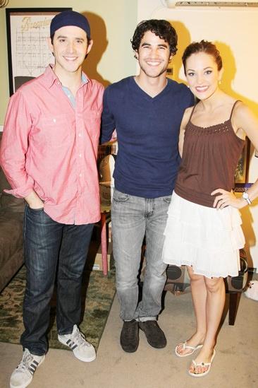 Darren Criss at Cinderella – Darren Criss – Santino Fontana – Laura Osnes