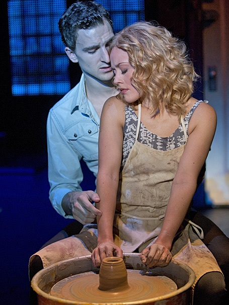 Show Photos - Ghost the Musical - tour - Katie Postotnik - Steven Grant Douglas