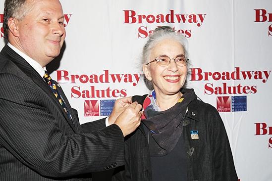 Broadway Salutes 2013 - Lawrence Paone - Karen Winer
