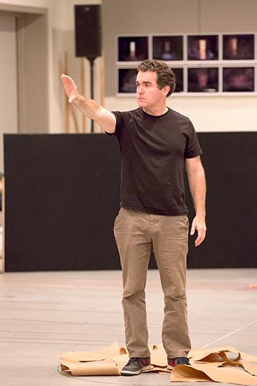 Macbeth – Rehearsal Photos – Brian d'Arcy James