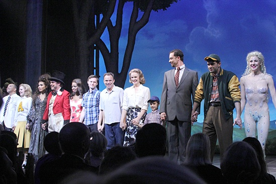Big Fish – Opening Night – cast