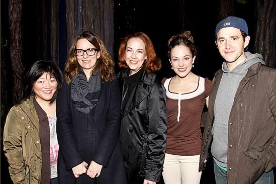 Cinderella – Tina Fey Visit – Ann Harada – Tina Fey - Harriet Harris – Laura Osnes – Santino Fontana