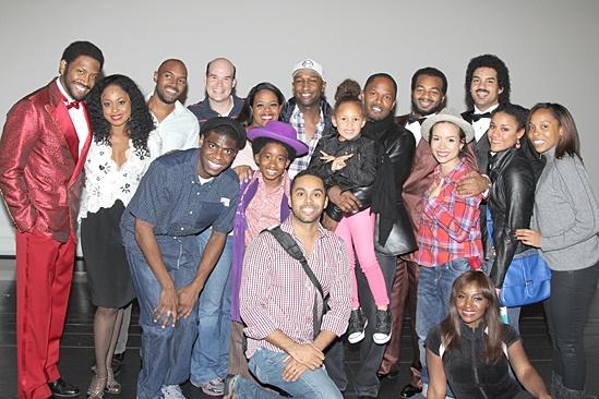 Jamie Foxx at Motown – group