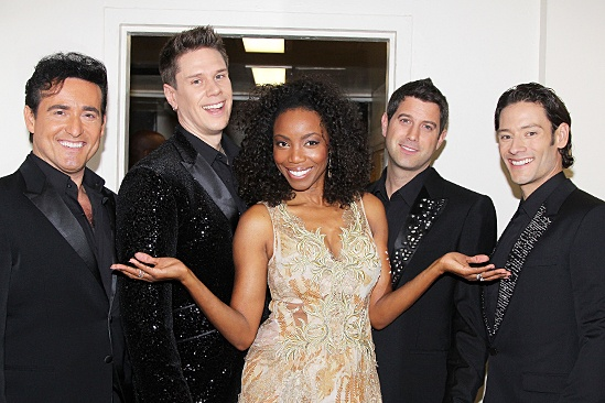 Photo 6 of 6 exclusive heather headley the il divo hunks debut their - Il divo cast ...