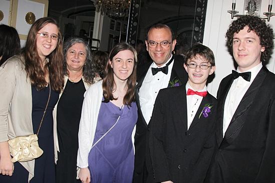 Gentleman's Guide opening night – Joey Parnes – family