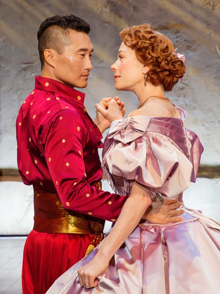 Show Photos - The King and I - 4/16 - Daniel Dae Kim - Marin Mazzie
