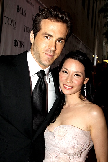 2010 Tony Awards Red Carpet – Ryan Reynolds – Lucy Liu