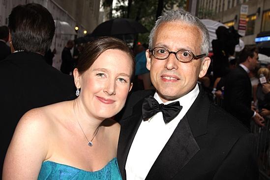 2010 Tony Awards Red Carpet – Sarah Ruhl – Donald Margulies