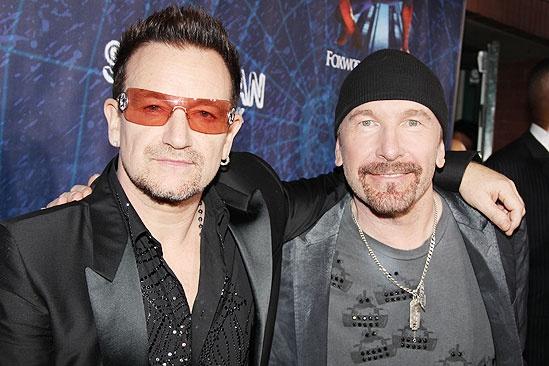 Spider-Man opening - Bono - The Edge
