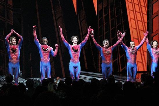 Spider-Man opening – Spider-men