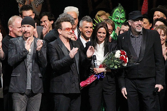 Spider-Man opening – Bono – Taymor – stage
