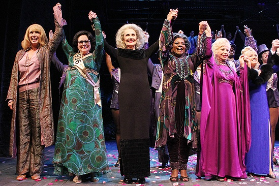 <i>Follies</i> opening night – Colleen Fitzpatrick – Florence Lacey – Mary Beth Peil - Terri White – Rosalind Elias – Elaine Paige