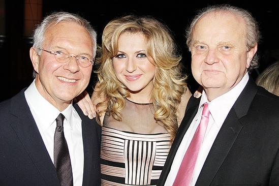 Venus in Fur Broadway Opening Night – Walter Bobbie – Nina Arianda – father