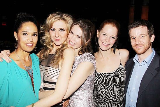 Venus in Fur Broadway Opening Night – Nina Arianda – Zoey Martinson – Katie Meister – Julie Sharbutt – Brad Fleischer