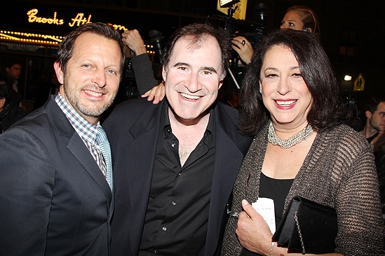 Venus in Fur Broadway Opening Night – Rob Ashford – Richard Kind – Lynne Meadow