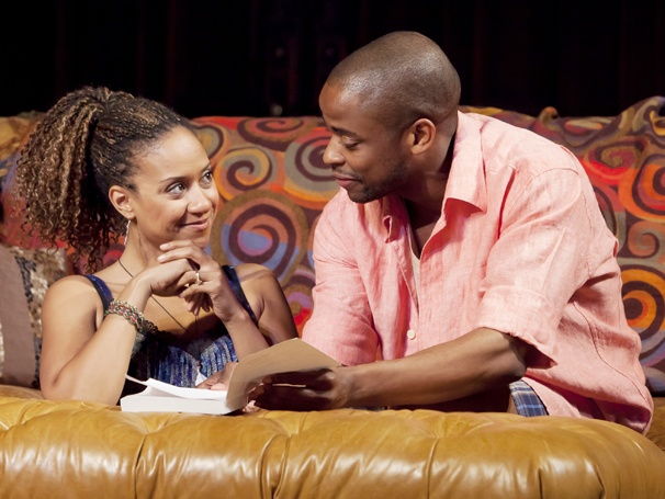 Show Photos - Stick Fly - Tracie Thoms - Dulé Hill