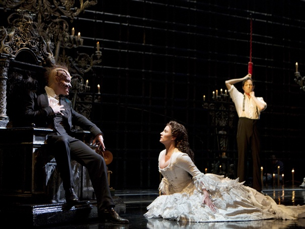 Show Photos - The Phantom of the Opera - Hugh Panaro - Kyle Barisich - Trista Moldovan