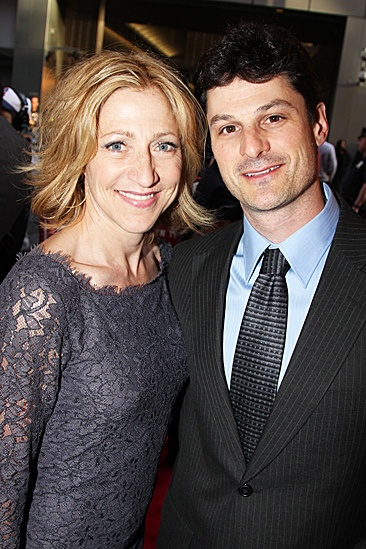 Clybourne Park Opening Night – Edie Falco - boyfriend