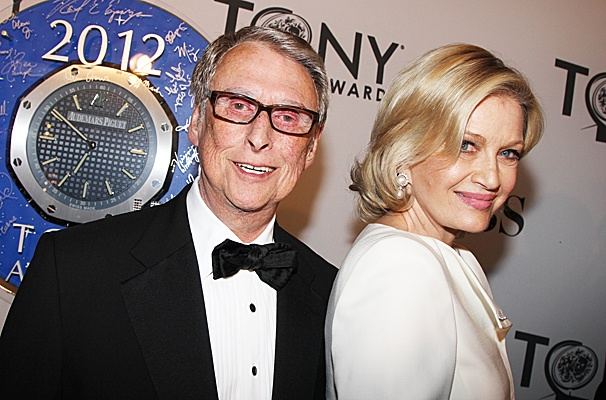 2012 Tony Award Best Pairs- Mike Nichols- Diane Sawyer