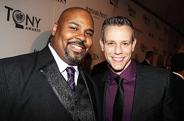 2012 Tony Award Best Pairs- James Monroe Iglehart- Adam Pascal