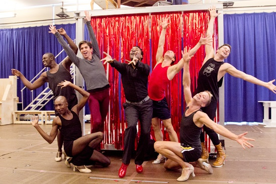 Kinky Boots- Kyle Taylor Parker- Kevin Smith Kirkwood- Charlie Sutton- Billy Porter- Paul Canaan- Kyle Post - Joey Taranto